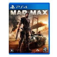 Jogo Mad Max - PS4 Mídia Física