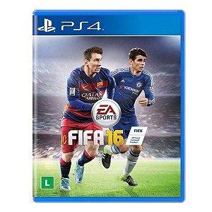 Jogo Fifa 2016 (FIFA 16) - PS4 Mídia Física