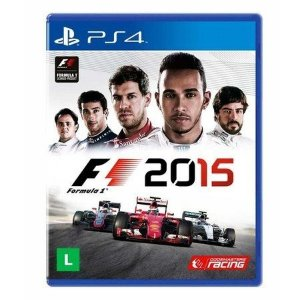 Jogo Formula 1 2015 - PS4 Mídia Física