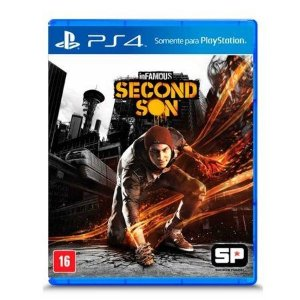 Jogo Infamous Second Son - PS4 Mídia Física