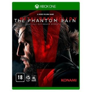 Jogo Metal Gear Solid V: The Phantom Pain - Xbox One Mídia Física