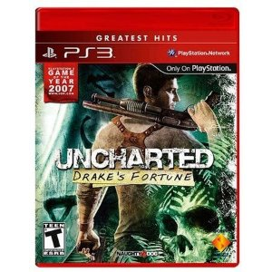 Jogo Uncharted: Drake's Fortune - PS3 Mídia Digital