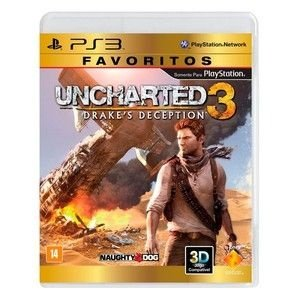 Uncharted 3: Drake's Deception - PS3 Mídia Digital