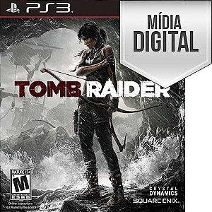 Jogo Tomb Raider - PS3 Mídia Digital