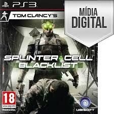 Tom Clancy's Splinter Cell: Blacklist - PS3 Mídia Digital