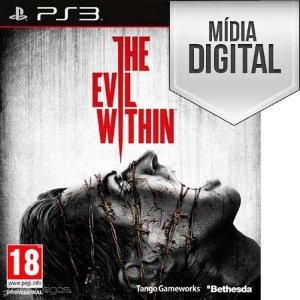 Jogo The Evil Within - PS3 Mídia Digital