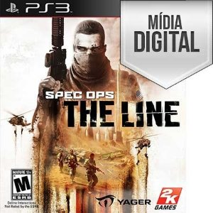 Spec Ops: The Line - PS3 Mídia Digital