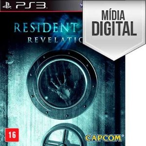 Resident Evil: Revelations - PS3 Mídia Digital