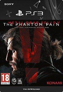 Metal Gear Solid V: The Phantom Pain - PS3 Mídia Digital