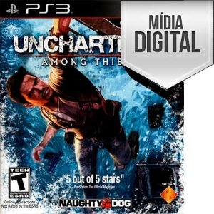 Jogo Uncharted 2: Among Thieves  Ps3 Mídia Digital