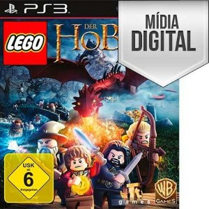 Jogo LEGO O Hobbit - PS3 Mídia Digital