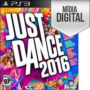 Jogo Just Dance 2016 - PS3 Mídia Digital