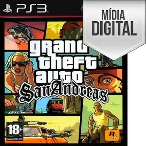 Grand Theft Auto: San Andreas (GTA) - PS3 Mídia Digital