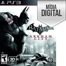 Batman: Arkham City Ps3 Mídia Digital
