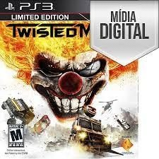 Jogo Twisted Metal Ps3 Mídia Digital