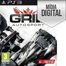 Jogo Grid Autosport - PS3 Mídia Digital