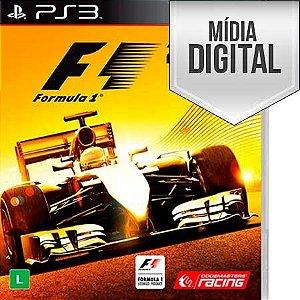 Jogo Formula 1 2014 Ps3 Mídia Digital