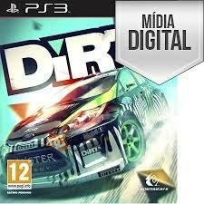 Dirt Ps3 Mídia Digital