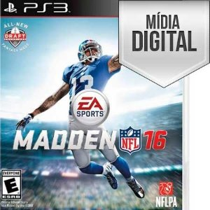 Madden NFL 16 - PS3 Mídia Digital