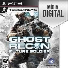 Jogo Tom Clancy's Ghost Recon: Future Soldier - PS3 Mídia Digital