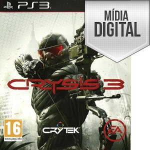 Crysis 3 - PS3 Mídia Digital