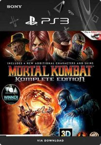 Jogo Mortal Kombat (Komplete Edition) - PS3 Mídia Digital