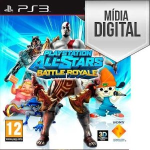 Jogo PlayStation All-Stars Battle Royale - PS3 Mídia Digital