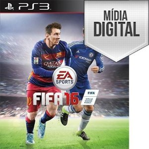 Fifa 2016 (FIFA 16) - PS3 Mídia Digital