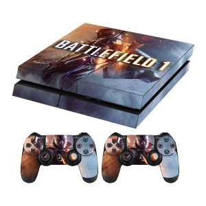 Skin Capa Playstation 4 Adesivo Battlefield 1 Ps4