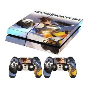 Skin Capa Playstation 4 Adesivo Overwatch Ps4