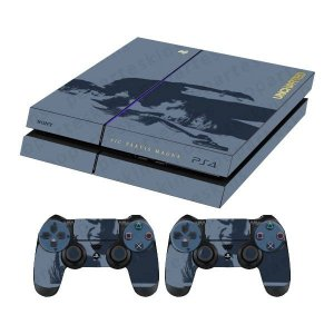 Skin Capa Playstation 4 Adesivo Uncharted 4 Ps4
