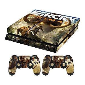 Skin Capa Playstation 4 Adesivo Far Cry Primal Ps4