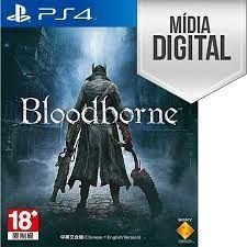 Bloodborne Ps4 Mídia Digital Licença Primária Vip