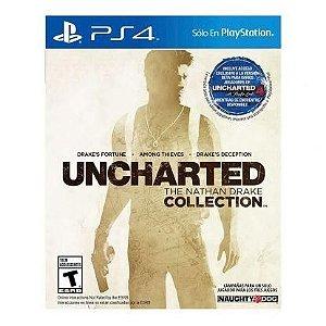 Uncharted: The Nathan Drake Collection - PS4 Mídia Digital Código 12 Dígitos