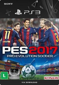 Pro Evolution Soccer 2017 Português Mídia Digital Ps3