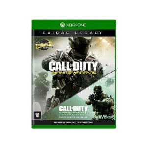 CALL OF DUTY: INFINITE WARFARE (LEGACY EDITION) - XBOX ONE PORTUGUÊS MÍDIA FÍSICA
