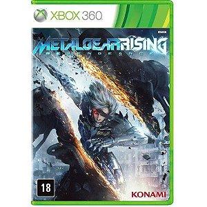 Metal Gear Rising: Revengeance - Xbox 360 Mídia Física Frete Grátis