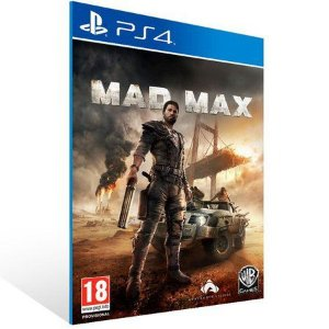 MAD MAX PS4 -MÍDIA DIGITAL CÓDIGO 12 DÍGITOS