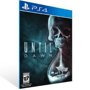 UNTIL DAWN PS4- MÍDIA DIGITAL CÓDIGO 12 DÍGITOS