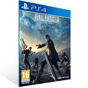 FINAL FANTASY XV PS4 - MÍDIA DIGITAL CÓDIGO 12 DÍGITOS