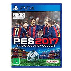 Pro Evolution Soccer 2017 (PES 17) - PS4 Mídia Física
