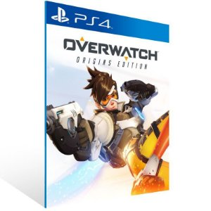 OVERWATCH ORIGINS EDITION PS4 - MÍDIA DIGITAL CÓDIGO 12 DÍGITOS