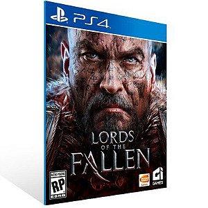 LORDS OF THE FALLEN PS4 - MÍDIA DIGITAL CÓDIGO 12 DÍGITOS