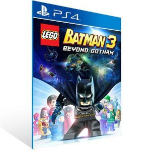 LEGO BATMAN 3: BEYOND GOTHAM PS4 - MÍDIA DIGITAL CÓDIGO 12 DÍGITOS
