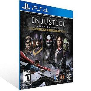 INJUSTICE: GODS AMONG US ULTIMATE EDITION PS4 - MÍDIA DIGITAL CÓDIGO 12 DÍGITOS