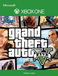 GRAND THEFT AUTO V GTA5 XBOX ONE CÓDIGO DIGITAL 25 DÍGITOS