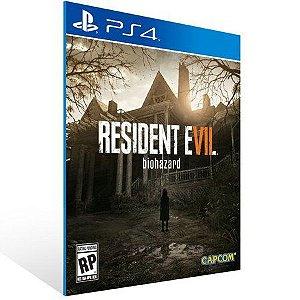 RESIDENT EVIL 7 BIOHAZARD PS4 - MÍDIA DIGITAL
