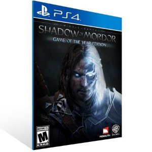SHADOW OF MORDOR PS4- GAME OF THE YEAR EDITION MÍDIA DIGITAL