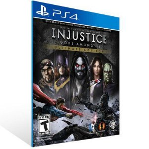 INJUSTICE: GODS AMONG US ULTIMATE EDITION PS4 - MÍDIA DIGITAL
