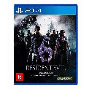 Resident Evil 6 Ps4 Remsterizado Mídia Digital Primária